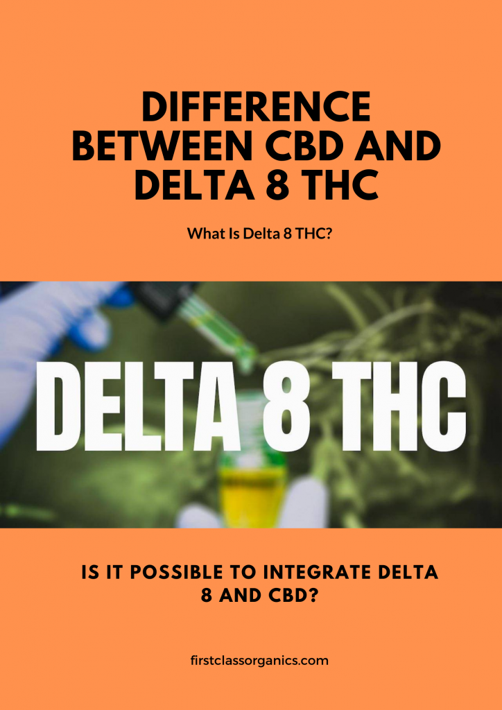 Difference Between CBD And Delta 8 THC